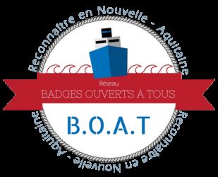 B.O.A.T (BADGES OUVERTS A TOUS) – Reconnaître en Nouvelle-Aquitaine